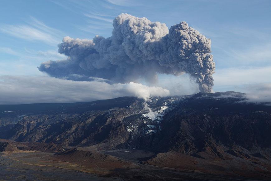 Ausbruch Eyjafjallajökull